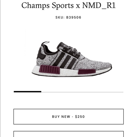 4c4622e6fda adidas Shoes - Adidas Sneakers Champs Sports x NMD R1